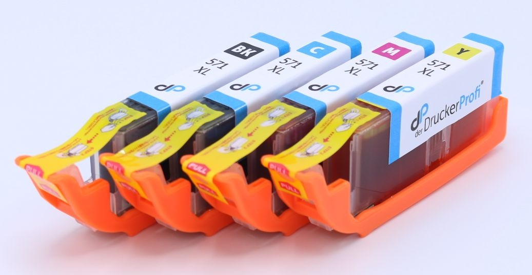 Kompatibel zu Canon CLI-571 XL MultiPack Tinte 11 ml