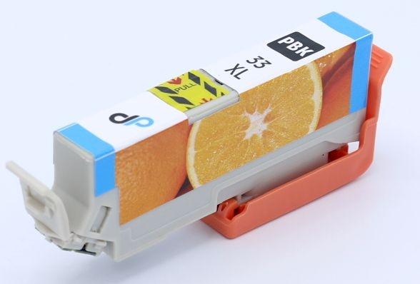 Kompatibel zu Epson 33XL Tinte Fotoschwarz 8,1 ml / Orange