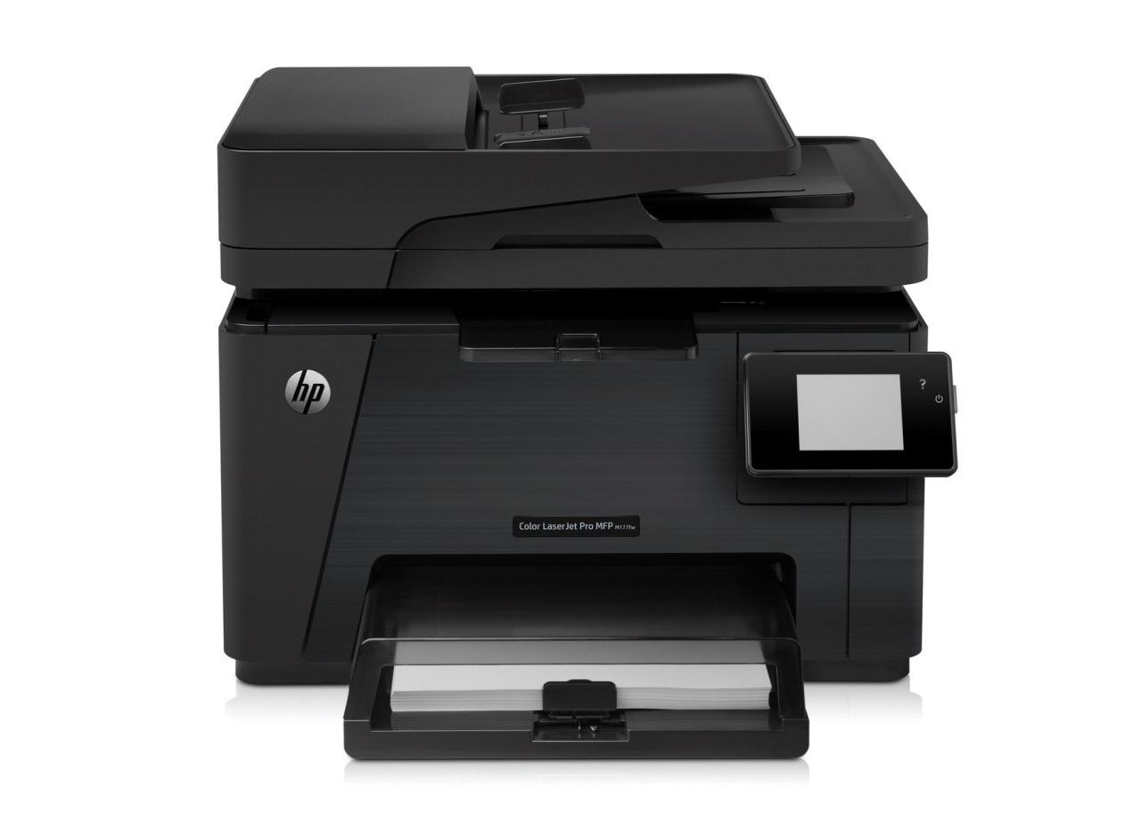 HP Color LaserJet Pro MFP M177FW, 4-in-1 Multi-Drucker