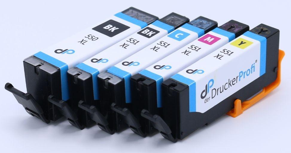 DDP Tintenpatrone MultiPack PBk,Bk,C,M,Y PGI550 & CLI551 XL