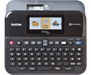 Brother P-Touch Professionelles Beschriftungsgerät PT-D600VP