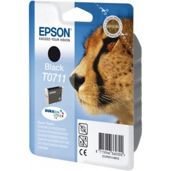 EPSON Tintenpatrone schwarz T0711 C13T071140