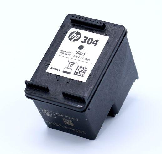 Ankauf original HP 304 schwarz leergedruckt