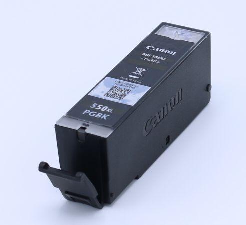 Ankauf original Canon PGI550 XL schwarz leergedruckt