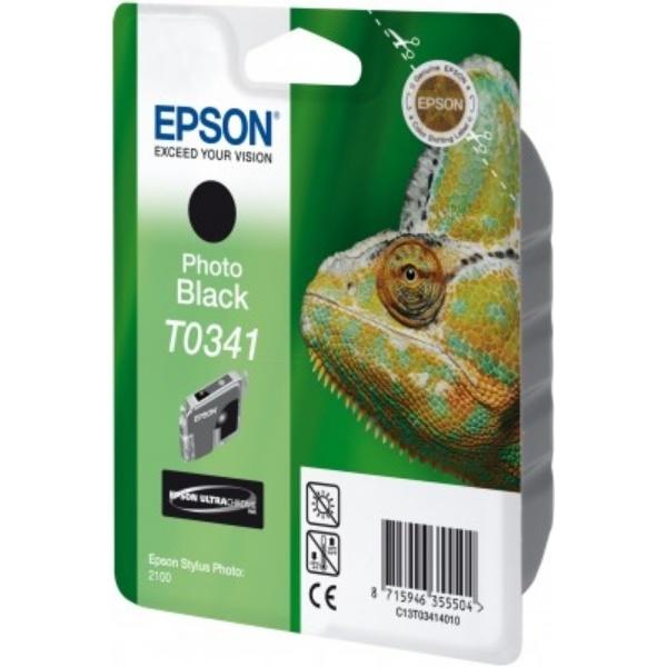 Epson T0341 Tinte schwarz 17 ml