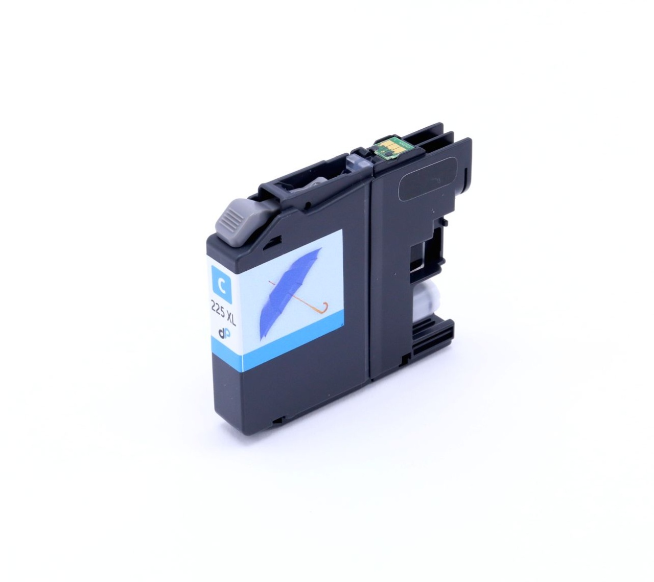 Kompatibel zu Brother LC225XLC Tinte cyan 11,8 ml
