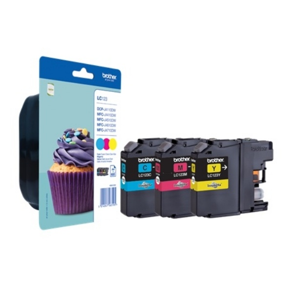 Brother LC123RBWBP MultiPack Tinte
