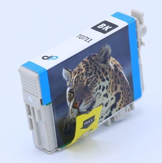 Kompatibel zu Epson T0711 Tinte schwarz 7,4 ml / Gepard