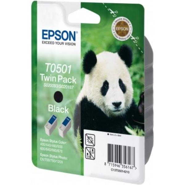 Epson T0501 Tinte schwarz 15 ml