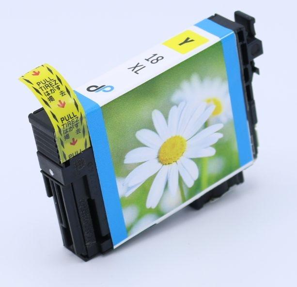 Kompatibel zu Epson 18XL Tinte gelb 6,6 ml / Margerite