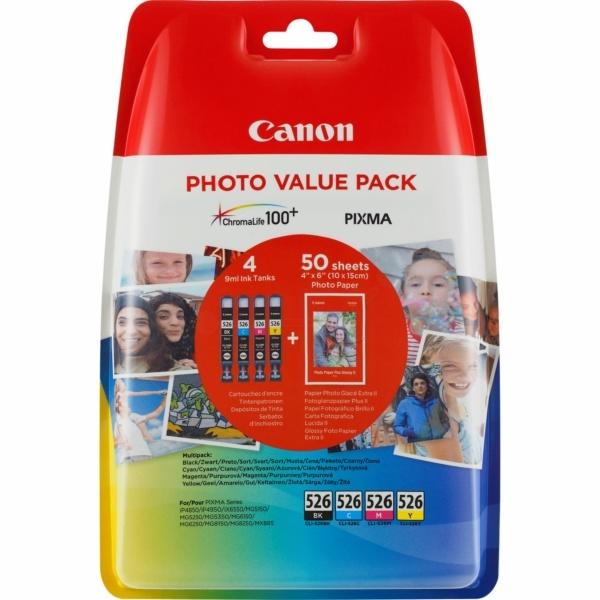 Canon CLI-526 MultiPack Tinte 9 ml