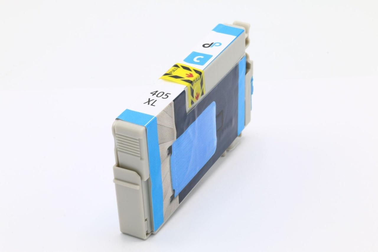 Kompatibel zu Epson 405 XL Tinte cyan 14,7 ml