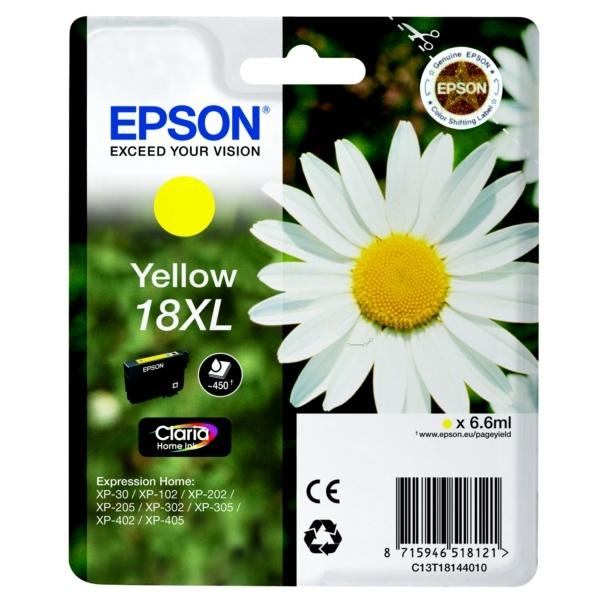 Epson 18XL Tinte gelb 6,6 ml