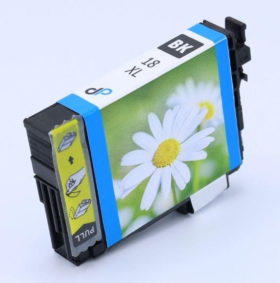Kompatibel zu Epson 18XL Tinte schwarz 11,5 ml / Margerite