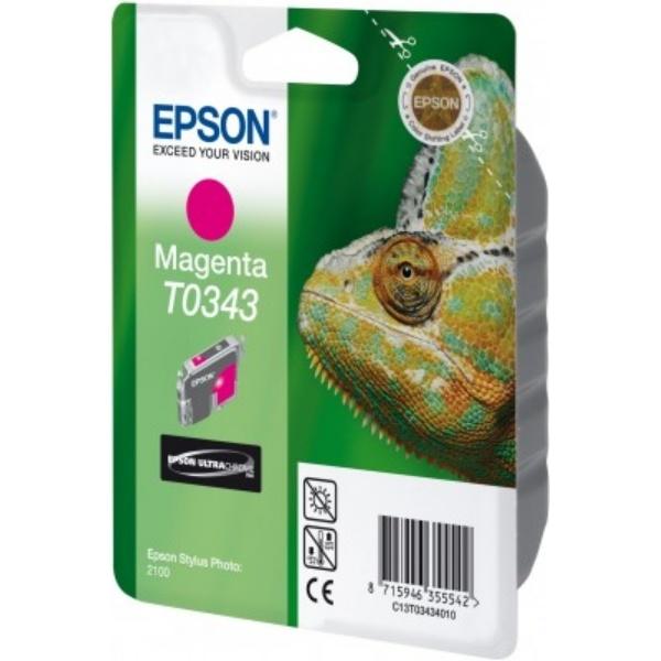 Epson T0343 Tinte magenta 17 ml