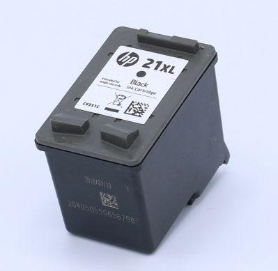 Ankauf original HP 21 XL schwarz leergedruckt