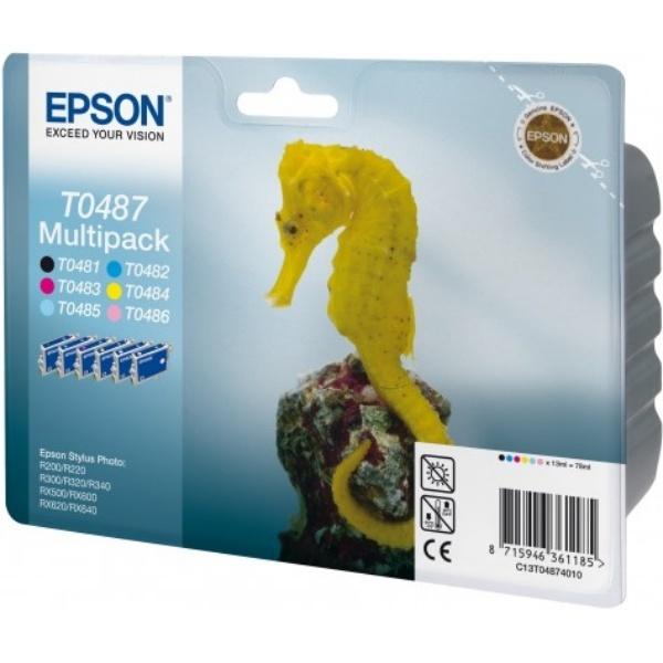 Epson T0487 MultiPack Tinte