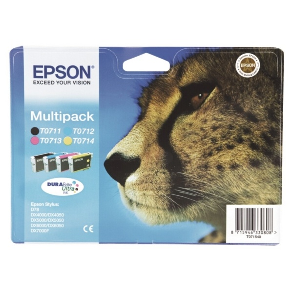 Epson T0715 MultiPack Tinte
