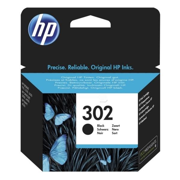 HP Tintenpatrone schwarz  F6U66AE