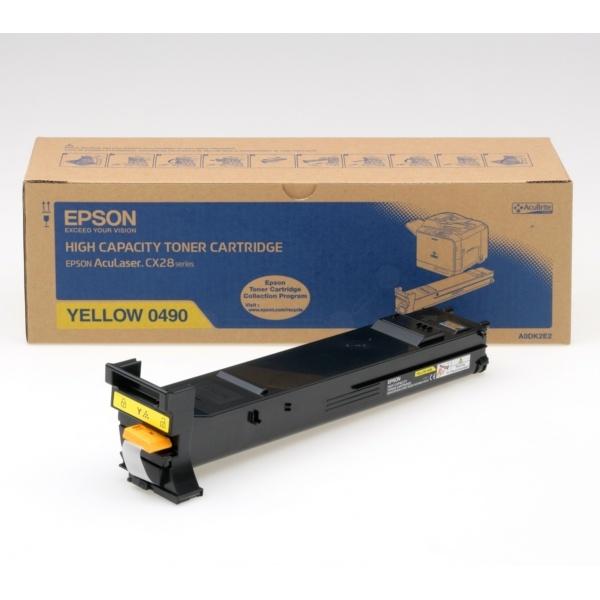 Epson 0490 Toner gelb