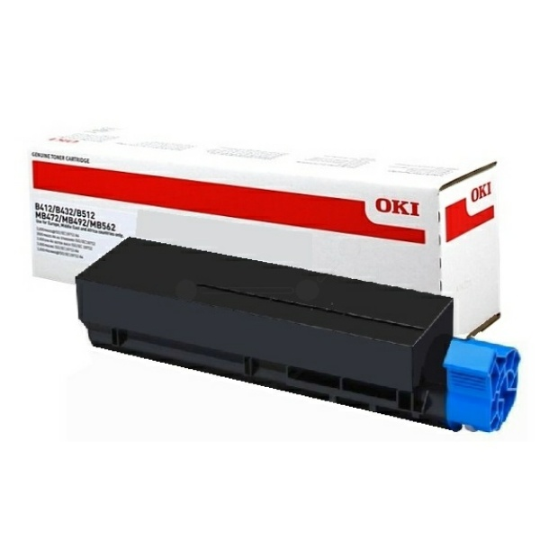 OKI 45807102 Toner schwarz