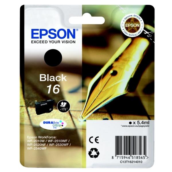 Epson 16 Tinte schwarz 5,4 ml