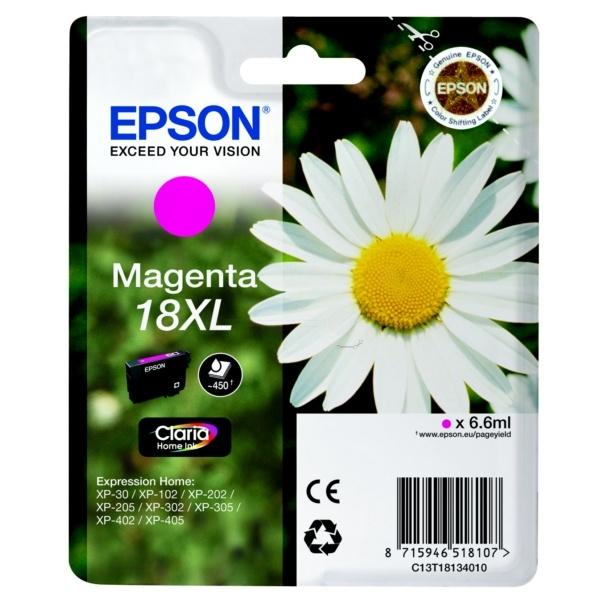 Epson 18XL Tinte magenta 6,6 ml