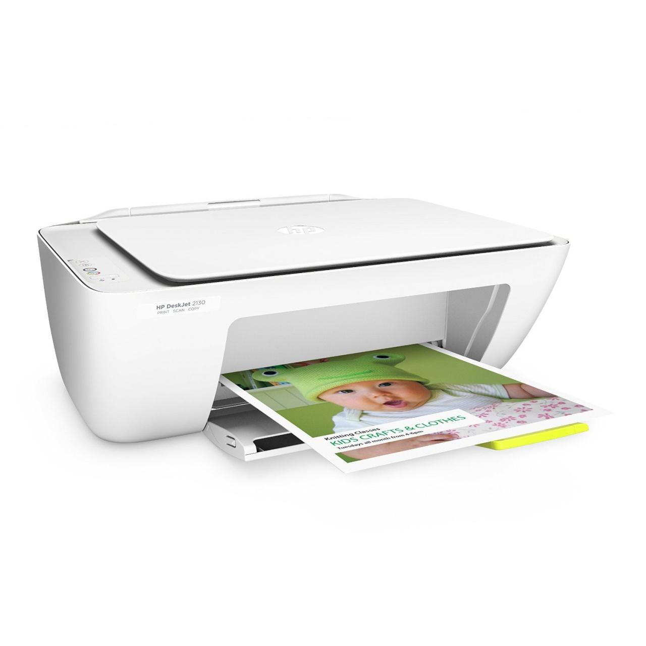 HP Deskjet 2130 3-in-1 Tintenstrahl-Multifunktionsdrucker