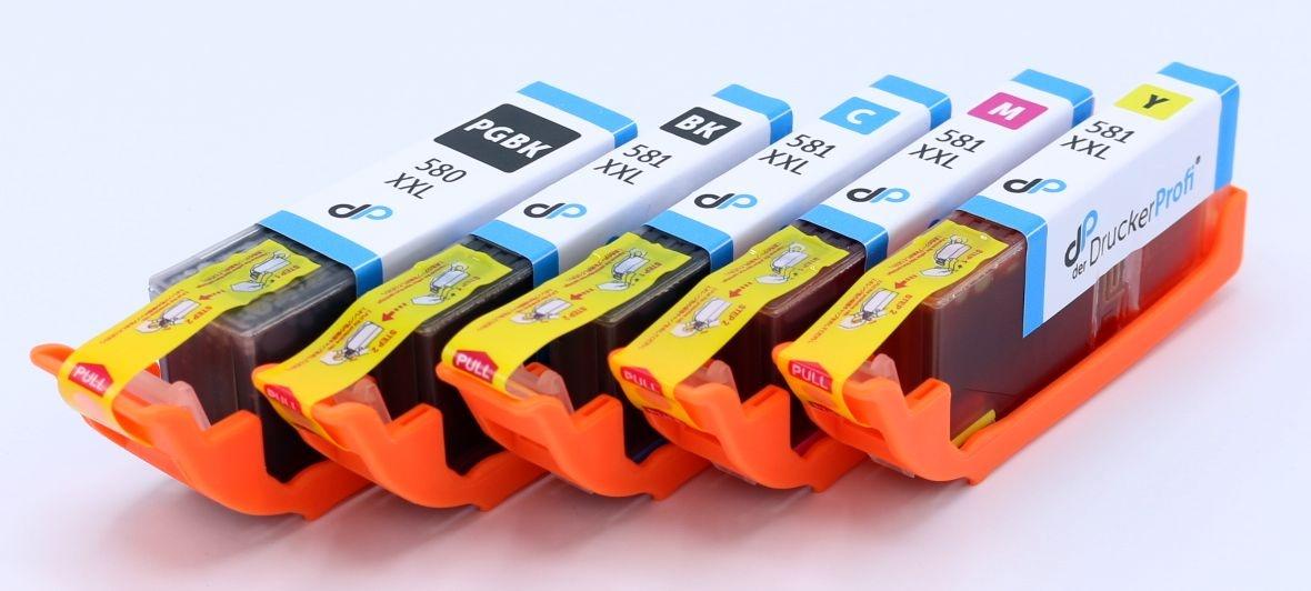 DDP Tintenpatrone MultiPack PBK,Bk,C,M,Y ersetzt PGI/CLI581X