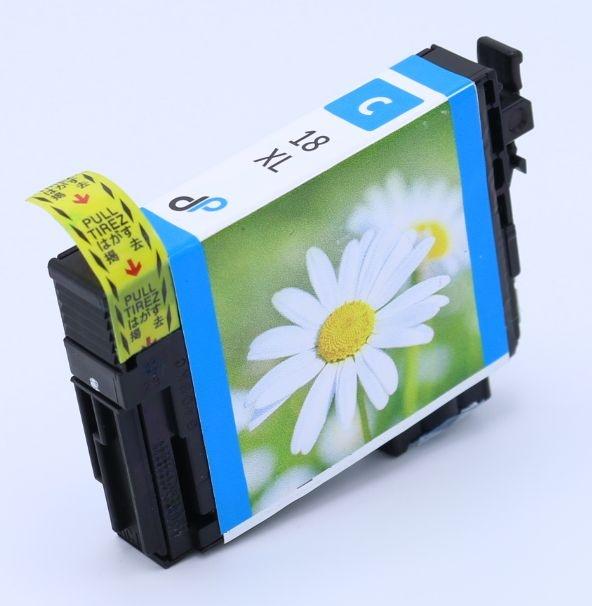 Kompatibel zu Epson 18XL Tinte cyan 6,6 ml / Margerite