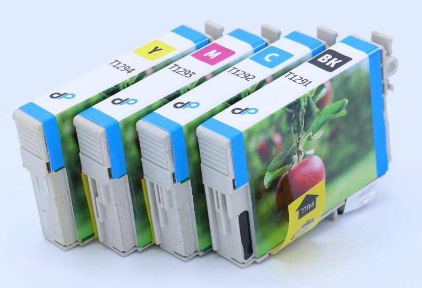Kompatibel zu Epson T1295 MultiPack Tinte / Apfel