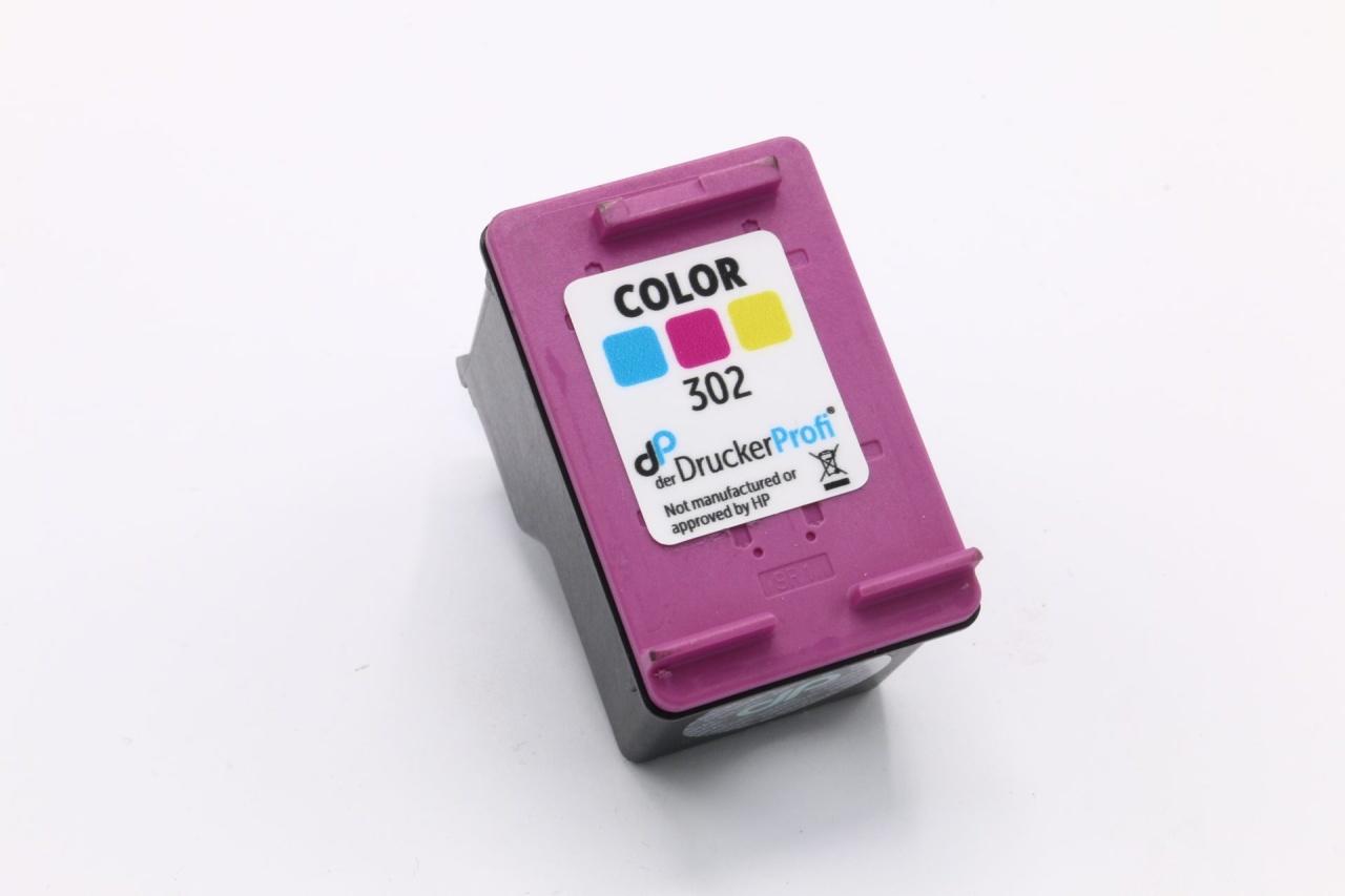 Kompatibel zu HP 302 Tinte color 4 ml