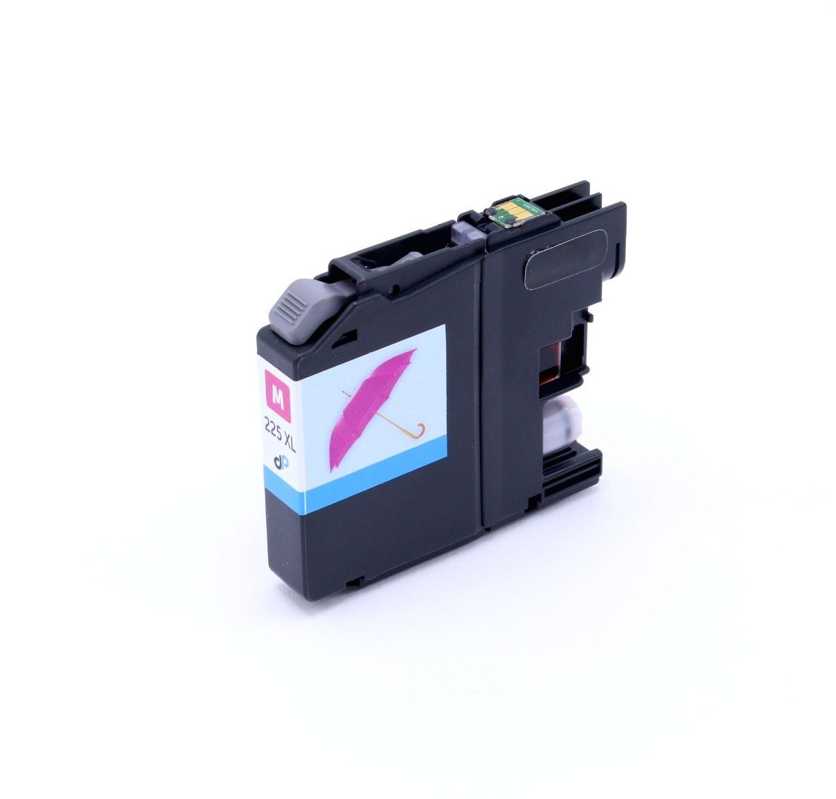 Kompatibel zu Brother LC225XLM Tinte magenta 11,8 ml