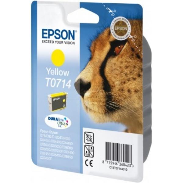 Epson T0714 Tinte gelb 5,5 ml