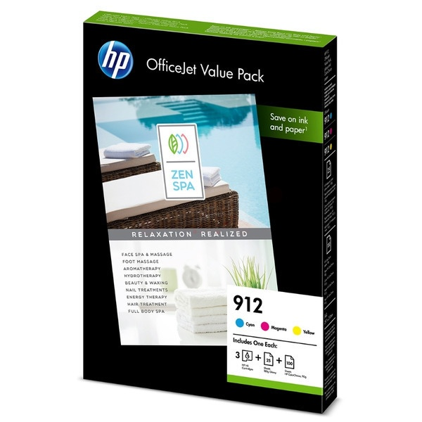 HP 912 MultiPack Tinte