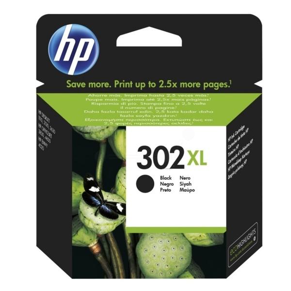 HP 302XL Tinte schwarz 8,5 ml